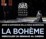 Royal Opera House: LA BOHÈME | Mer 29 Gennaio | ore 20.45
