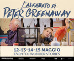 I WONDER STORIES: evento PETER GREENAWAY | Lun13 e Mer15 Maggio