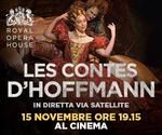 Royal Opera House: LES CONTES D'HOFFMANN | Mar 15 Novembre | ore 19.15