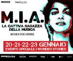 I WONDER STORIES: evento M.I.A. | dal 20 Gennaio