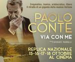 REPLICHE proiezione evento PAOLO CONTE | Sab 17 e Dom 18 Ottobre