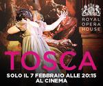 Royal Opera House: TOSCA | Mer 7 Febbraio | ore 20.15
